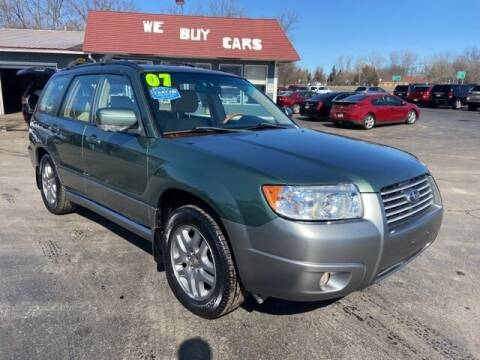 2007 Subaru Forester for sale at Newcombs Auto Sales in Auburn Hills MI