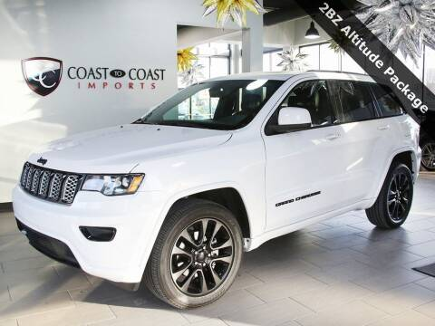 2019 Jeep Grand Cherokee for sale at Coast to Coast Imports in Fishers IN