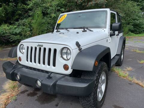 2011 Jeep Wrangler for sale at Peach Auto Sales in Smyrna GA