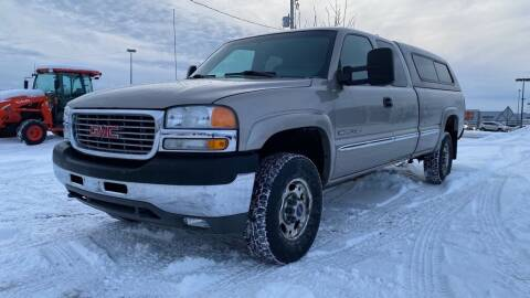 2002 GMC Sierra 2500HD for sale at Action Motor Sales in Gaylord MI