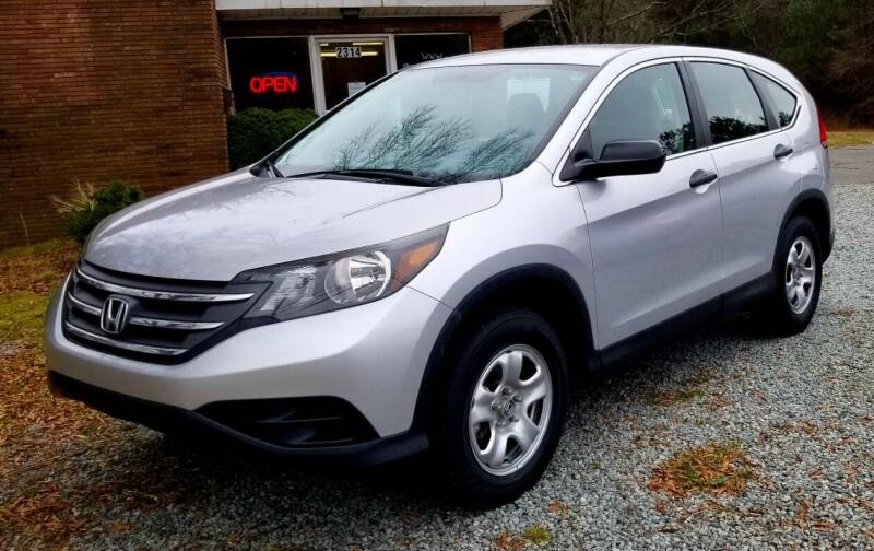 2014 Honda CR-V for sale at Progress Auto Sales in Durham NC