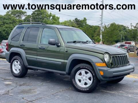 2007 Jeep Liberty for sale at Town Square Motors in Lawrenceville GA