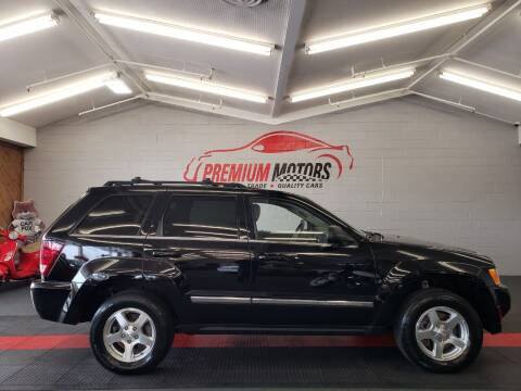 2005 Jeep Grand Cherokee for sale at Premium Motors in Villa Park IL