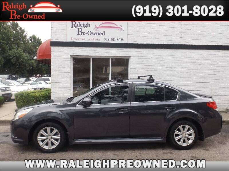 2011 Subaru Legacy for sale at Raleigh Pre-Owned in Raleigh NC