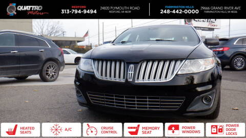 2012 Lincoln MKS for sale at Quattro Motors 2 in Farmington Hills MI