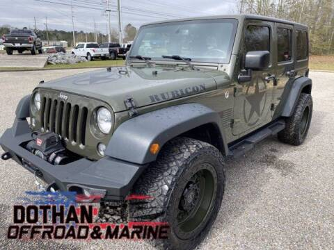 2015 Jeep Wrangler Unlimited for sale at Mike Schmitz Automotive Group in Dothan AL