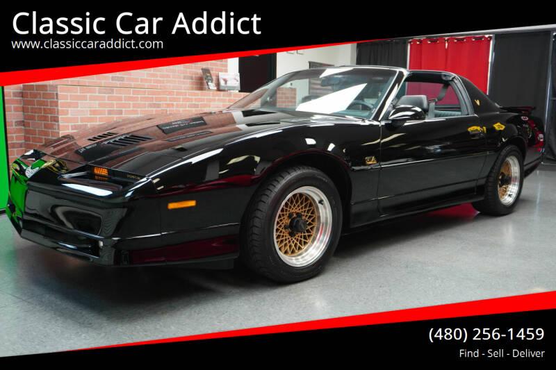 1989 Pontiac Firebird for sale at Classic Car Addict in Mesa AZ