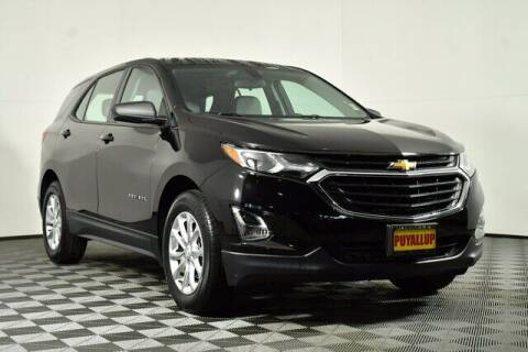 2018 Chevrolet Equinox for sale at Chevrolet Buick GMC of Puyallup in Puyallup WA