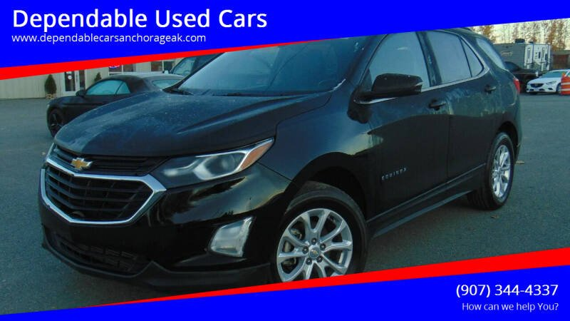2018 Chevrolet Equinox for sale at Dependable Used Cars in Anchorage AK