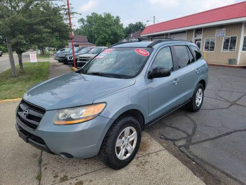 2009 Hyundai Santa Fe for sale at THE PATRIOT AUTO GROUP LLC in Elkhart IN