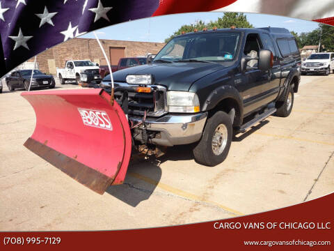 2004 Ford F-350 Super Duty for sale at Cargo Vans of Chicago LLC in Mokena IL