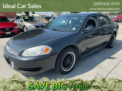 2013 Chevrolet Impala for sale at Ideal Car Sales in Los Banos CA