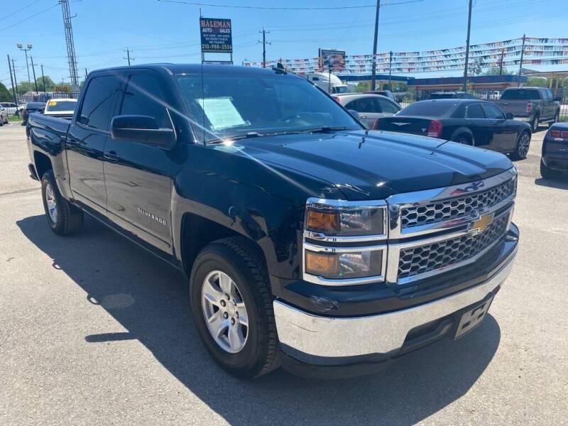 2015 Chevrolet Silverado 1500 for sale at HALEMAN AUTO SALES in San Antonio TX