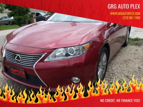 2013 Lexus ES 350 for sale at GRG Auto Plex in Houston TX