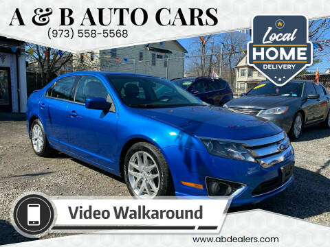2012 Ford Fusion for sale at A & B Auto Cars in Newark NJ