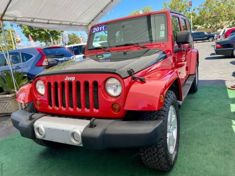 2011 Jeep Wrangler Unlimited for sale at San Jose Auto Outlet in San Jose CA