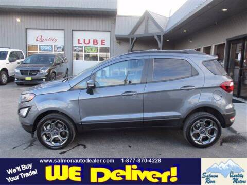 2018 Ford EcoSport for sale at QUALITY MOTORS in Salmon ID