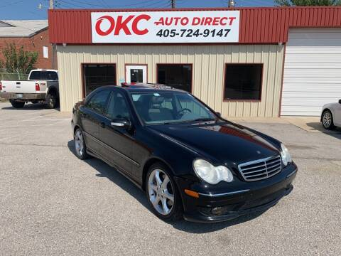2007 Mercedes-Benz C-Class for sale at OKC Auto Direct in Oklahoma City OK