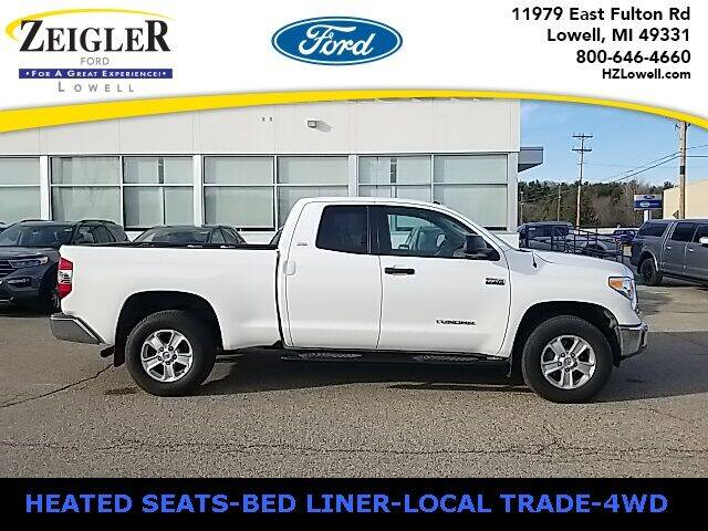 2016 Toyota Tundra for sale at Zeigler Ford of Plainwell- Jeff Bishop in Plainwell MI