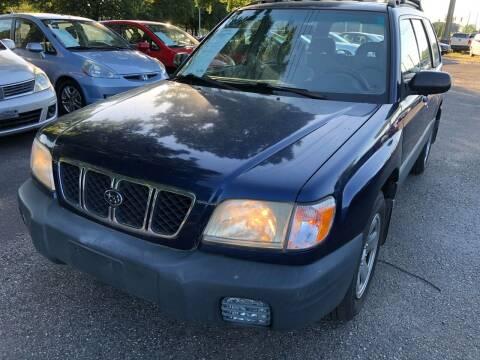 2002 Subaru Forester for sale at Atlantic Auto Sales in Garner NC