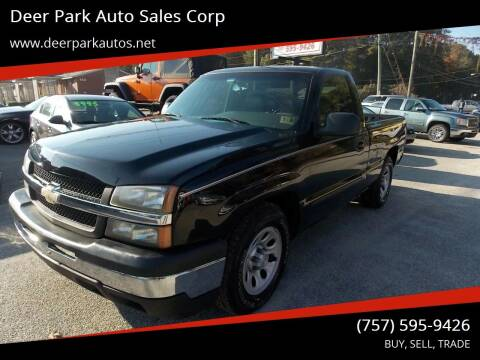 2007 Chevrolet Silverado 1500 Classic for sale at Deer Park Auto Sales Corp in Newport News VA