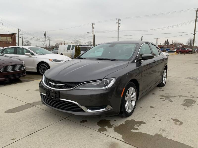 2016 Chrysler 200 for sale at Crooza in Dearborn MI