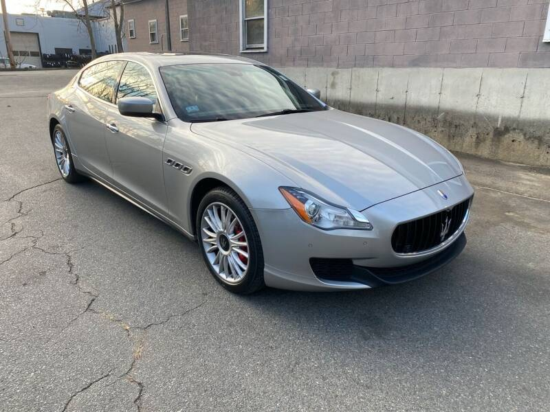 2014 Maserati Quattroporte for sale at Broadway Motor Sales and Auto Brokers in North Chelmsford MA