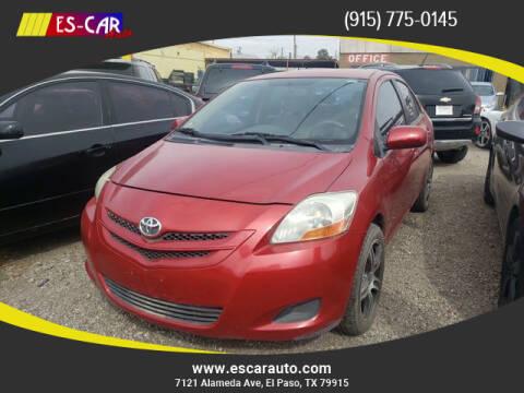 2007 Toyota Yaris for sale at Escar Auto in El Paso TX