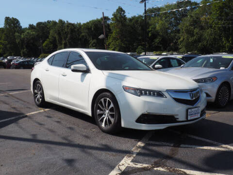 2015 Acura TLX for sale at MAPLECREST FORD LINCOLN USED CARS in Vauxhall NJ