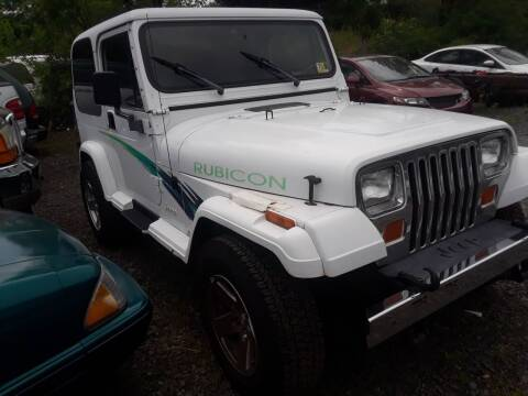 1994 Jeep Wrangler for sale at M & M Auto Brokers in Chantilly VA
