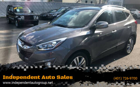 2014 Hyundai Tucson for sale at Independent Auto Sales in Pawtucket RI
