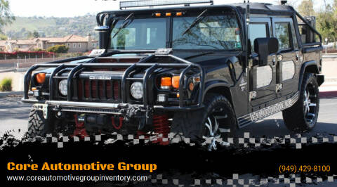1997 AM General Hummer for sale at Core Automotive Group - Hummer in San Juan Capistrano CA