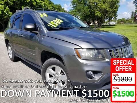 2014 Jeep Compass for sale at AUTO COLLECTION OF SOUTH MIAMI in Miami FL
