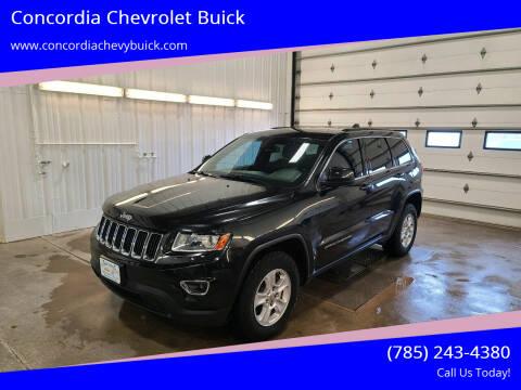 2014 Jeep Grand Cherokee for sale at Concordia Chevrolet Buick in Concordia KS