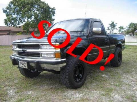 1989 Chevrolet C/K 1500 Series for sale at RPM Motors LLC in West Palm Beach FL