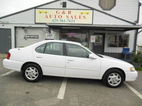 1999 Nissan Altima for sale at G&R Auto Sales in Lynnwood WA