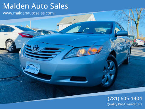 2008 Toyota Camry for sale at Malden Auto Sales in Malden MA