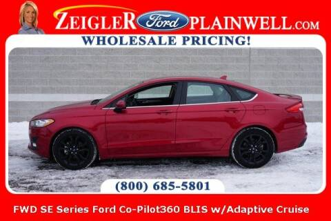 2020 Ford Fusion for sale at Zeigler Ford of Plainwell- Jeff Bishop in Plainwell MI