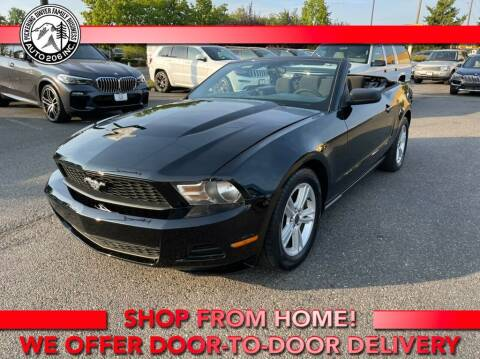 2010 Ford Mustang for sale at Auto 206, Inc. in Kent WA