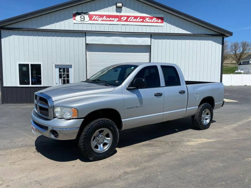 2005 Dodge Ram Pickup 1500 for sale at Highway 9 Auto Sales - Visit us at usnine.com in Ponca NE