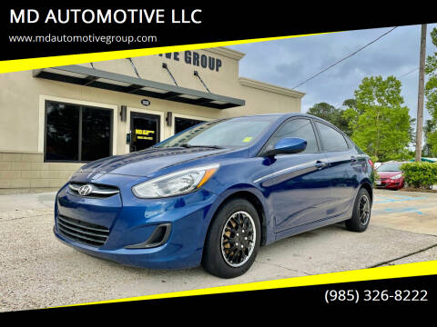 2015 Hyundai Accent for sale at MD AUTOMOTIVE LLC in Slidell LA