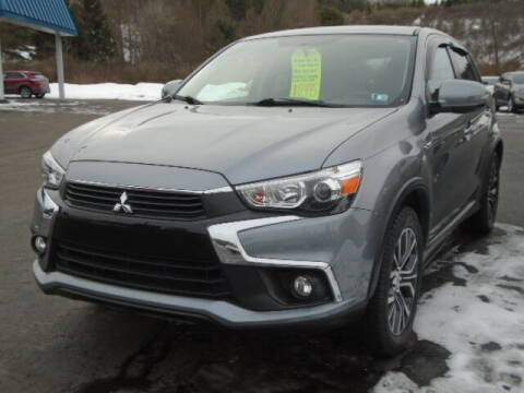 2017 Mitsubishi Outlander Sport for sale at Rogos Auto Sales in Brockway PA