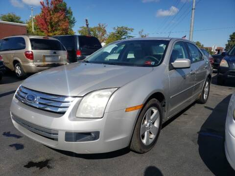 2007 Ford Fusion for sale at Rayyan Auto Mall in Lexington KY