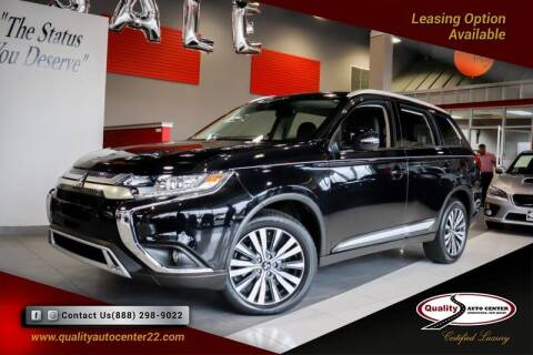 2020 Mitsubishi Outlander for sale at Quality Auto Center in Springfield NJ