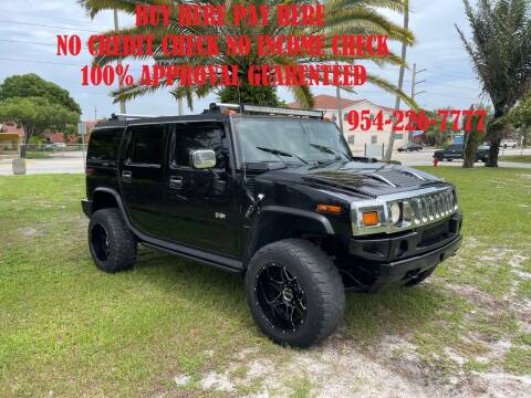 2005 HUMMER H2 for sale at Transcontinental Car USA Corp in Fort Lauderdale FL
