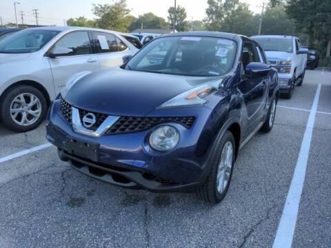 2016 Nissan JUKE for sale at Strosnider Chevrolet in Hopewell VA