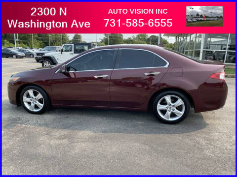 2010 Acura TSX for sale at Auto Vision Inc. in Brownsville TN