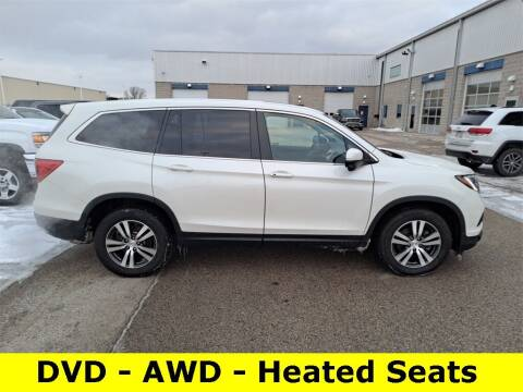 2018 Honda Pilot for sale at LENZ TRUCK CENTER in Fond Du Lac WI