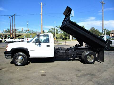 2005 Chevrolet Silverado 3500 for sale at Steffes Motors in Council Bluffs IA