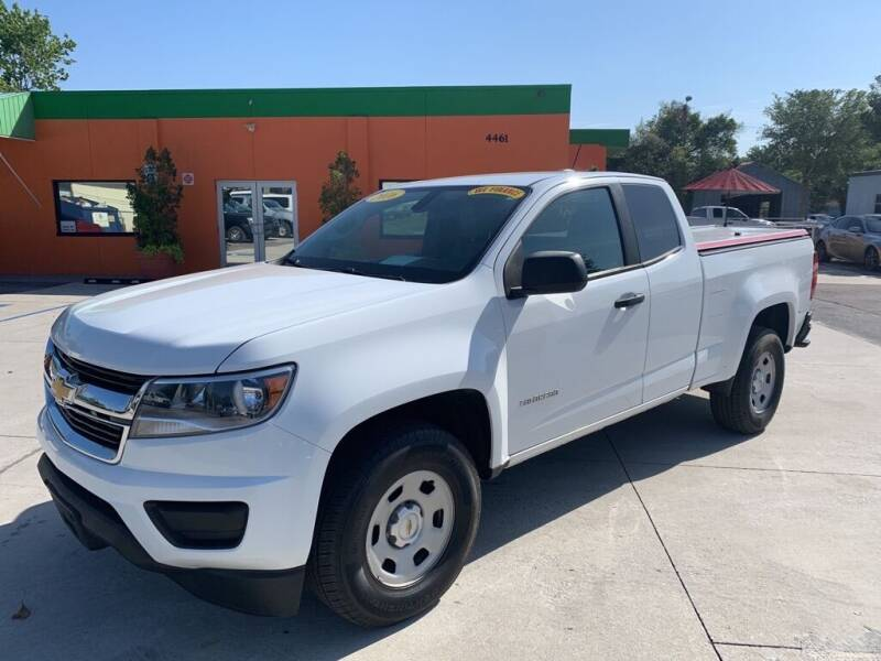 2016 Chevrolet Colorado for sale at Galaxy Auto Service, Inc. in Orlando FL
